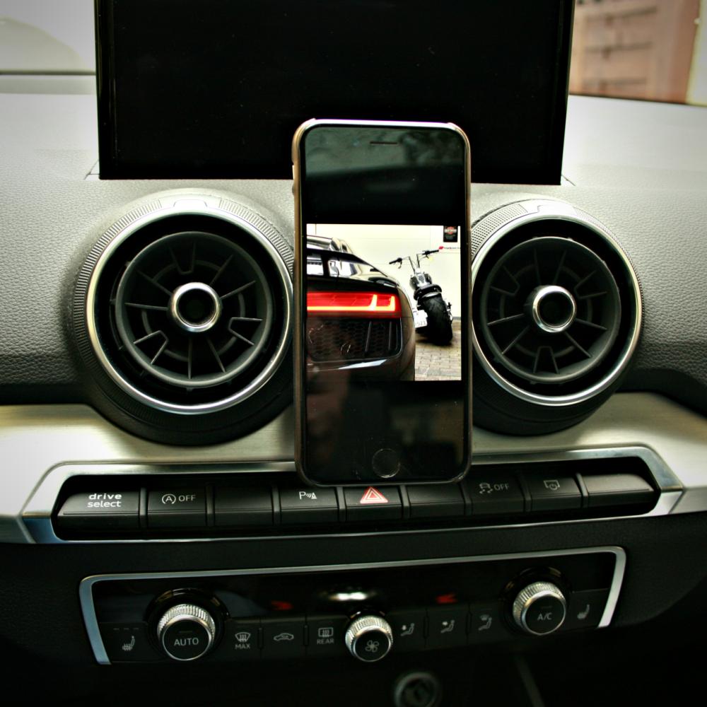 Audi Q2 GA S-Line Lichtschalter Schalter Zierblende Aluminium Blende
